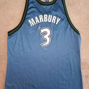 cheap for discount d30b6 af383 marbury timberwolves jersey